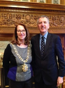 Mass State Senate President Therese Murray has made inestimable contribution to our peace process