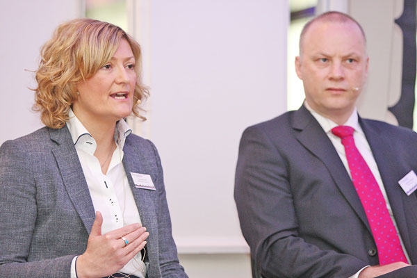 Suzanne Hill and Richard Ramsey discuss Belfast on the Rise