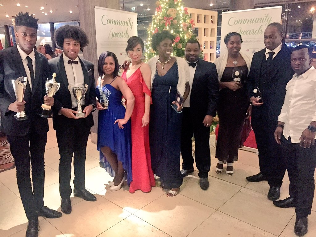 CHAMPIONS: Recipients of accolades and organisers of the ACSONI Christmas Community Awards (with thanks to Eileen of Craic NI for photo)