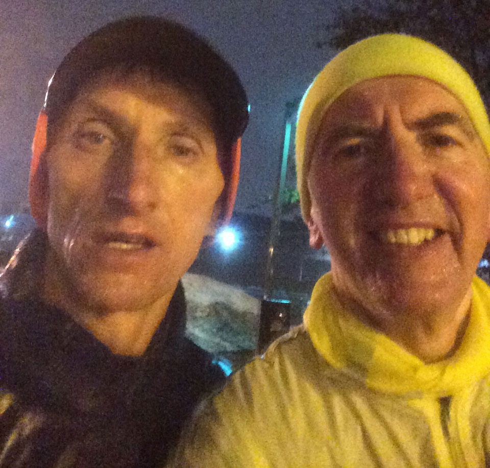 NIGHT RUNNERS: No visit to Boston is complete without rising in the middle of the night for Police Commissioner Bill Evans' 4:45am run.