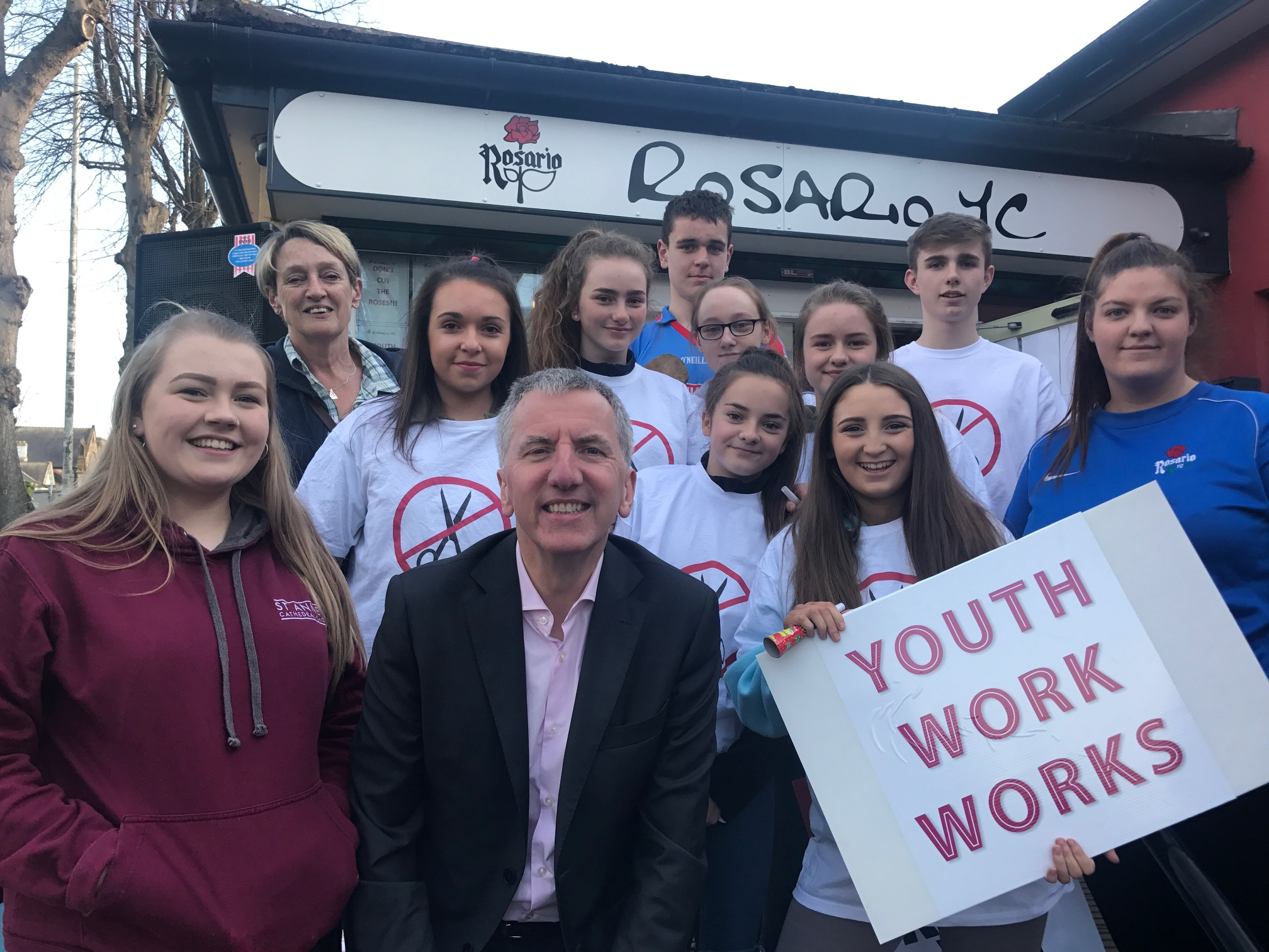 Youth work works: Kudos to youngsters who turned out to demand reinstatement of funding for Rosario YC