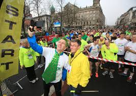 Beannachtaí na Féile: 2,000 runners will mark St Patrick's Day by stepping out lightly from City Hall for a 10K run through Belfast streets.