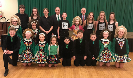 MO CHEOL SIBH: The best Irish dancers I have seen in two decades of visits to the US, the Tiarna na Rince dancing troupe from Buffalo.