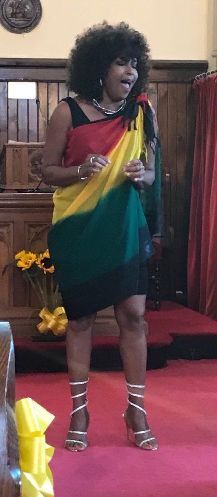Jamaican songstress Clover Watts