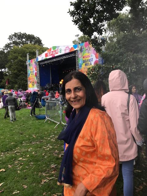 Nisha Tandon ensures the Mela show goes on at the Botanic Gardens