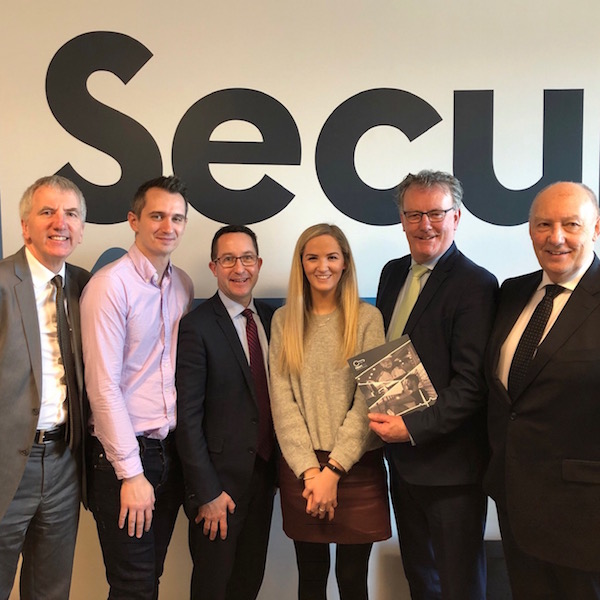 Thanks to B-Secur director Colin & team members Alan. Annie, & Alan of this fab local company for introducing Mike Nesbitt MLA and myself this week to their pioneering and innovative tech using heartbeat to battle stress and promote wellbeing. Big thanks also to New York State Comptroller Tom DiNapoli whose special fund to bolster the peace fund has invested in B-Secur.